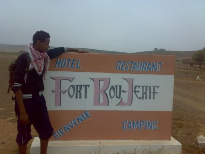 this is me in Fort Bou-Jerif