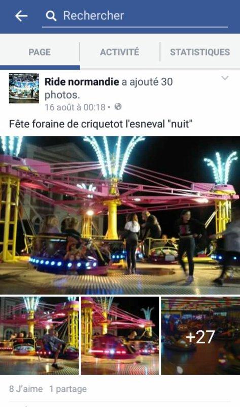 Fête foraine de criquetot l'esneval 2016