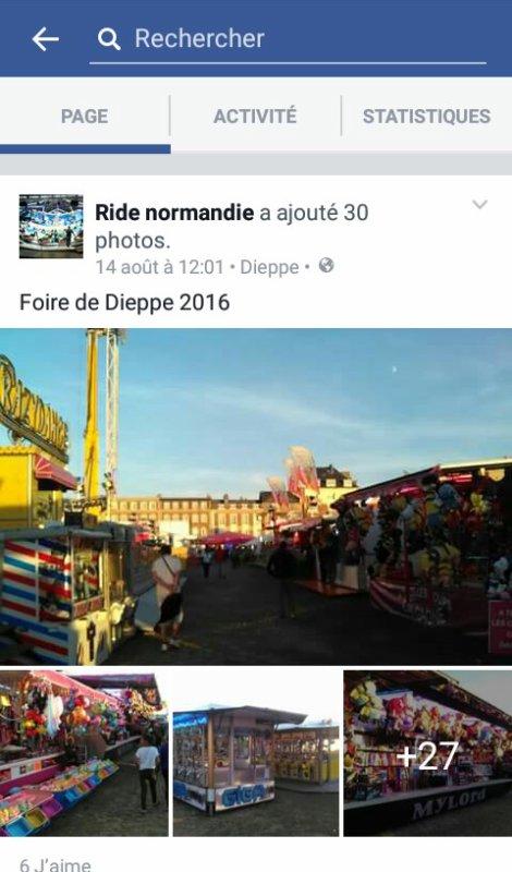 Foire de Dieppe 2016