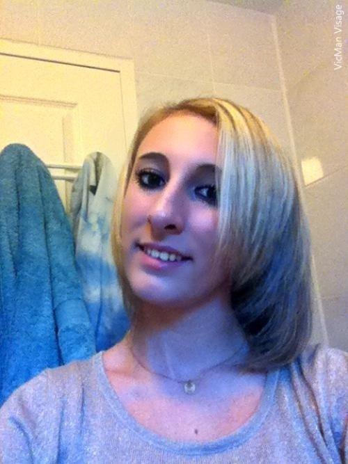 Nouvelle coupe de cheveux , 3heures chez le coiffeur . x)