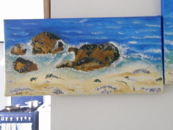plage rochers