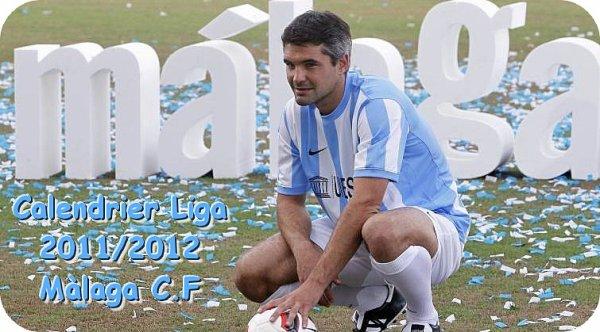 Liga : Calendrier du Màlaga Club de fùtbol