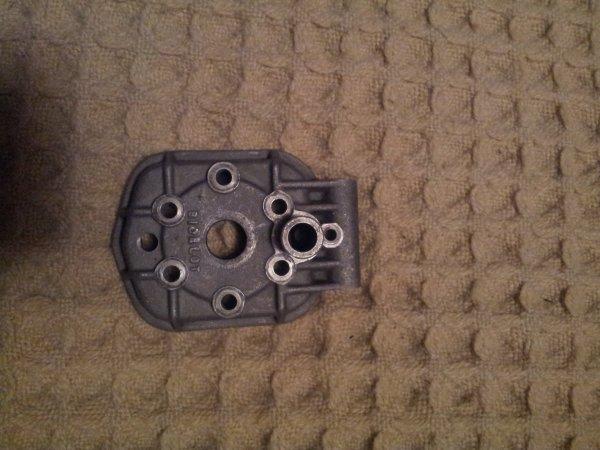 culasse FS avec son joint torique en bon état et trou fileté pour sonde de température