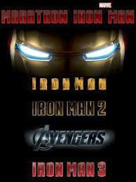 Iron man,Iron man 2, Avengers, Iron man 3
