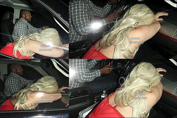 Lady Gaga  le 30 mai arrivant au  Chateau Marmont  à Los Angeles visiblement très fatigué .