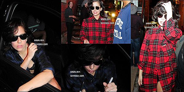 Voici toutes les sorties de Lady Gaga  de cette semaine à Chicago et New-York que des tops