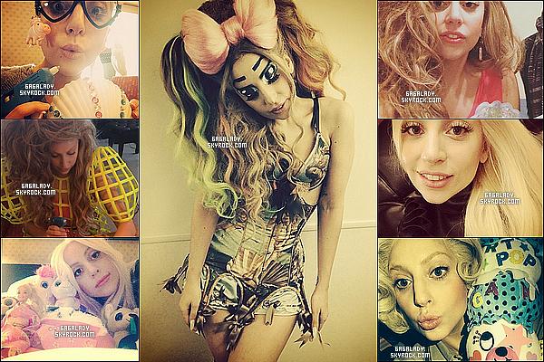 Lady Gaga dans l'émission SMAP X SMAP et de nombreuses photos de Gaga sur Instagram.