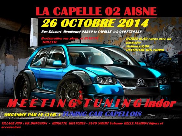meeting la capelle du 26 octobre 2014