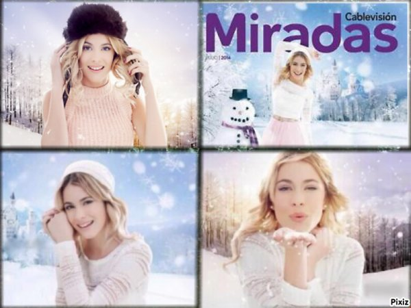 "New photos de Martina Stoessel pour le magazine ""Miradas"""