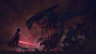 Quand Alien rencontre Dark Vador...