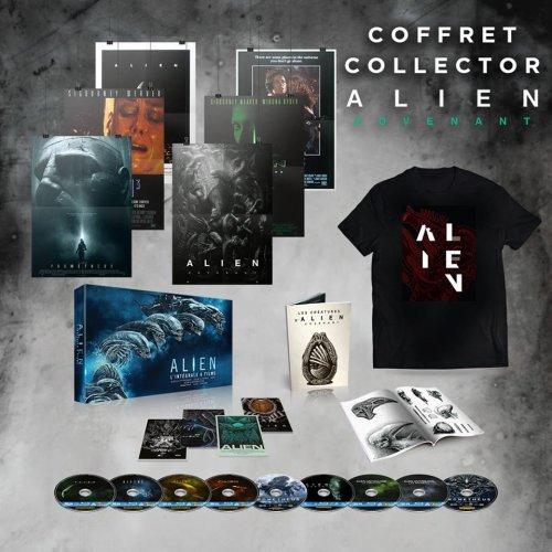 Nouveau coffret saga Alien