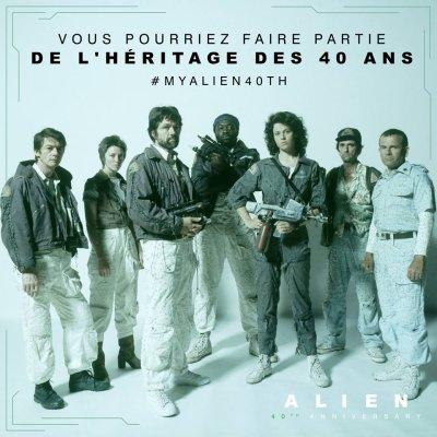 Concours Alien 40 ème anniversaire par la FOX et le site Alien Universe...
