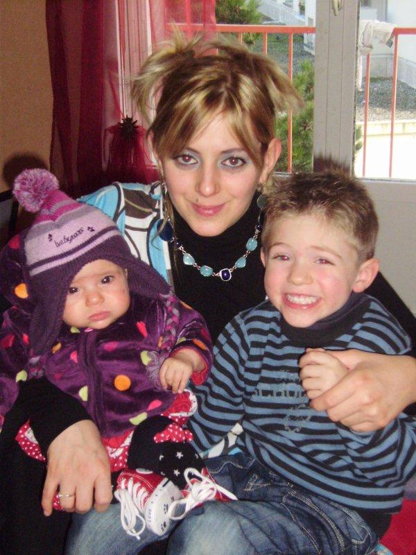 Super maman et ses deux anges :-)