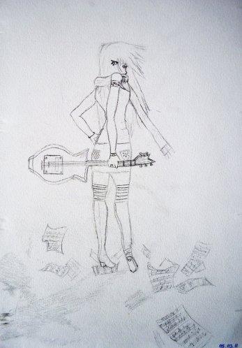 La musique , plus que présente dans ma vie ..