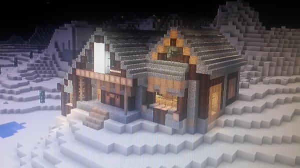 Petite maison mi médiéval