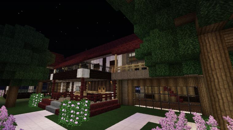 Maison de Luxe sur Minecraft