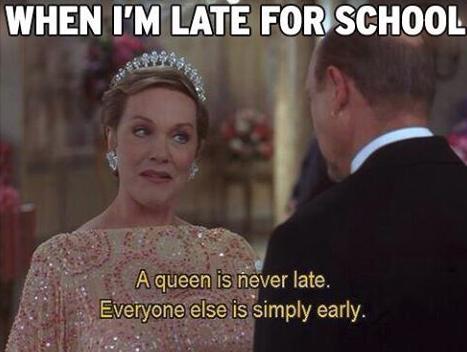Je ne suis jamais en retard !