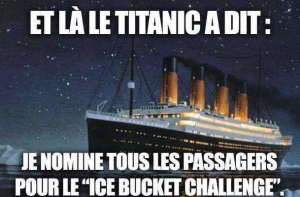 Ice Bucket Challenge vs Titanic