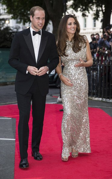 Kate Middleton Hits the Red Carpet in Style
