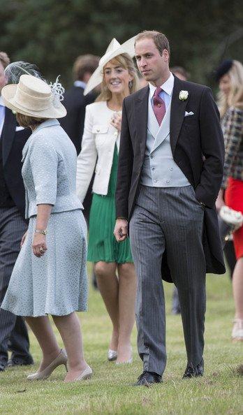 Prince William a un mariage