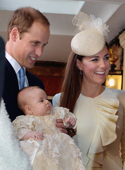 Prince George de Cambridge Baptisé à Londres