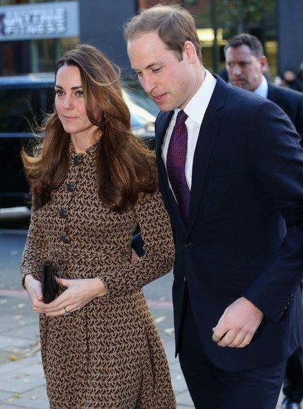 Prince William participe à l'événement de campagne BAFTA
