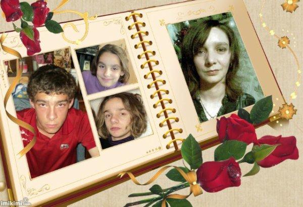 mes filles,mon neveux et moi
