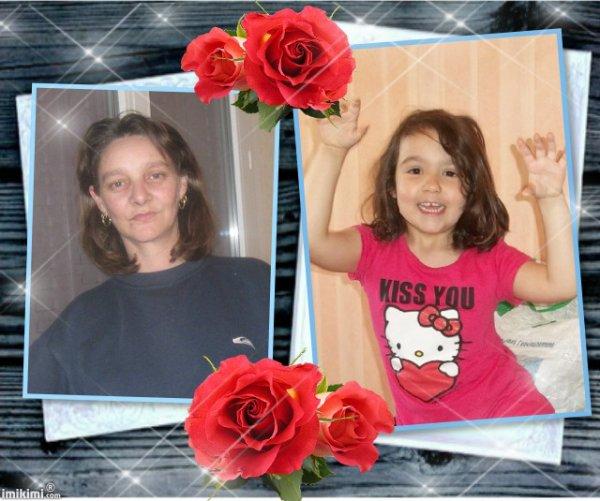 <3 moi,ma fille alison,arnaud,et sarah <3