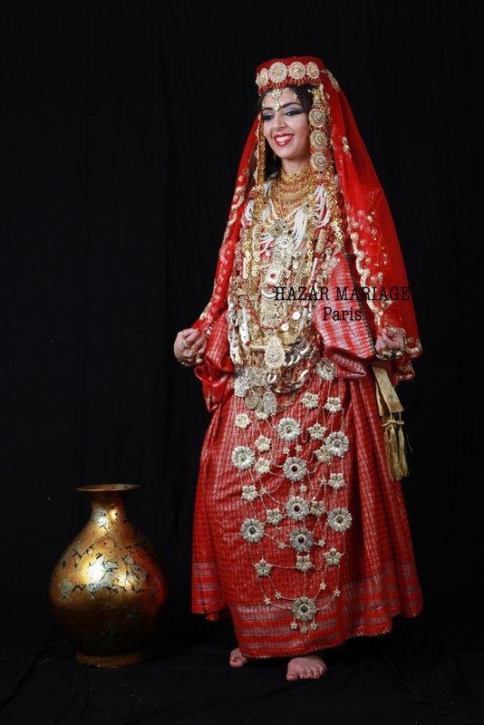 Robe berbère tunisienne : Malia/Holi