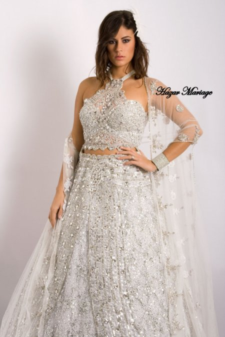 Robe de mariée tunisienne / Kessoua  / Keswa / Fouta ou blousa : Yasmine