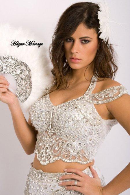 Robe de mariée tunisienne / Kessoua  / Keswa / Fouta ou blousa : Amel