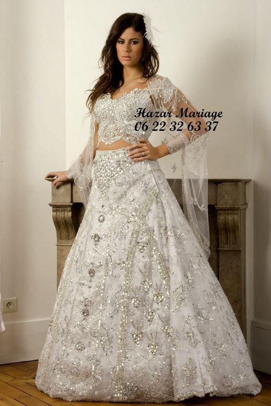 Robe de mariée tunisienne/ kessoua / keswa /fouta ou blousa : Camilia