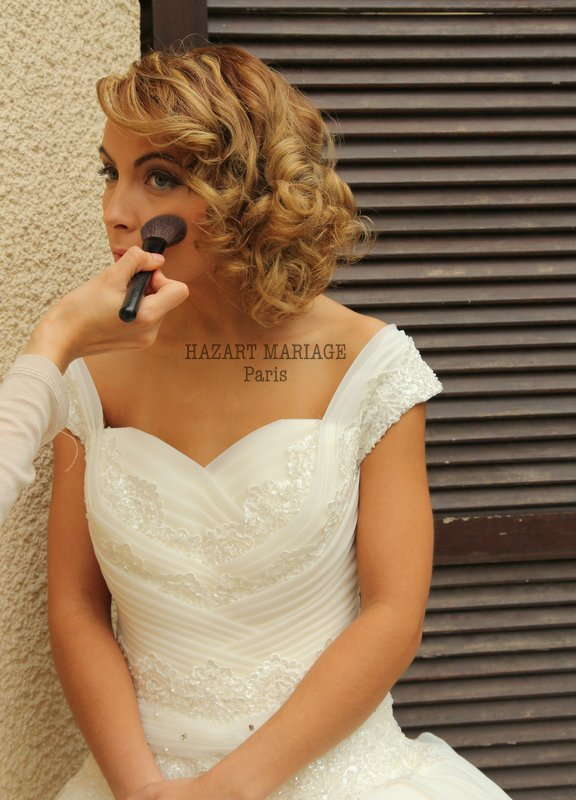 HAZAR MARIAGE Paris Coiffure & Maquillage / Pose hijab / Location de robes dans toute la France