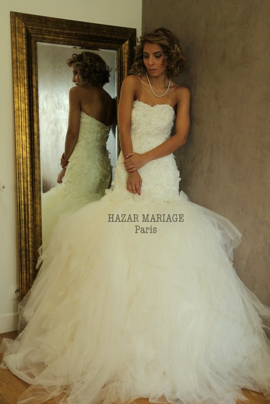 Robe de mariée blanche : La Gloria