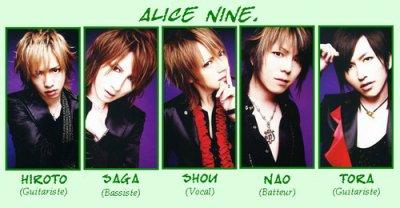 ..::II Alice Nine II::..