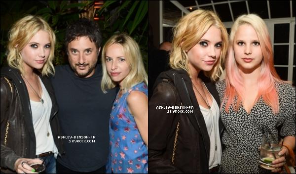 . Ashley et Keegan arrivaient au Chateau Marmont à West Hollywood, le 12 mai.  .