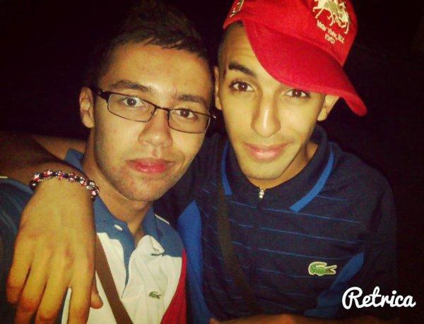 Avec Mon frèro Youyou <3 :* Kiffe