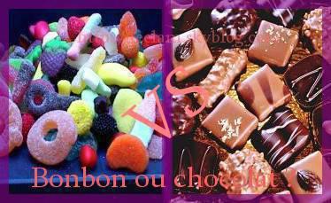 bonbon ou chocolat ?