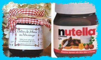 confiture ou nutella ?