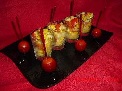 Tomate D'Amour & Salade En Vérines
