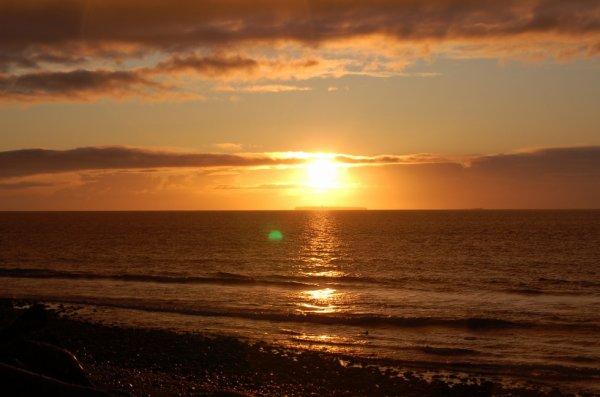 Sunset Whidbey Island Oak Harbor Washington