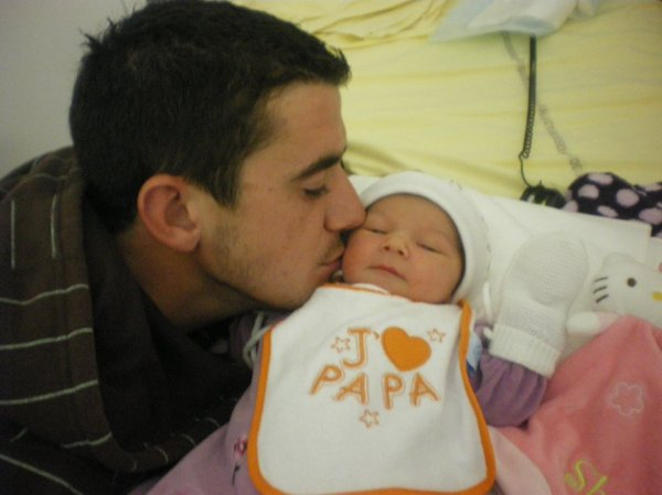 Ma Fille Shayna avec mon marie !!!