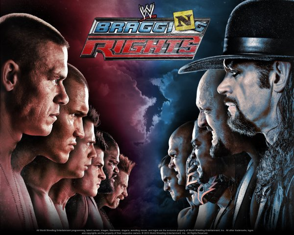 WWE Bragging Rights : Le 24 octobre 2010