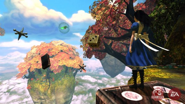 Alice au pays de la folie ( VO: Alice madness returns)                                      JEUX VIDEO
