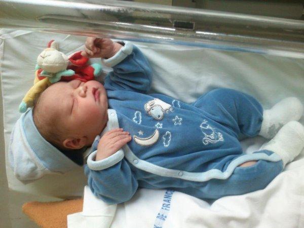 naissance de notre babyboy 2013