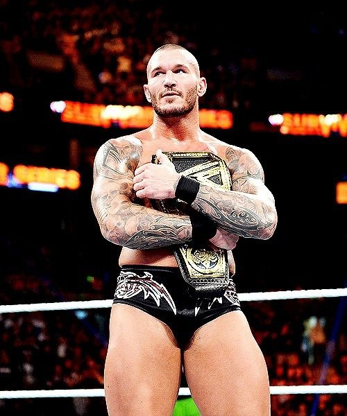 Randy Orton photo wwe champion