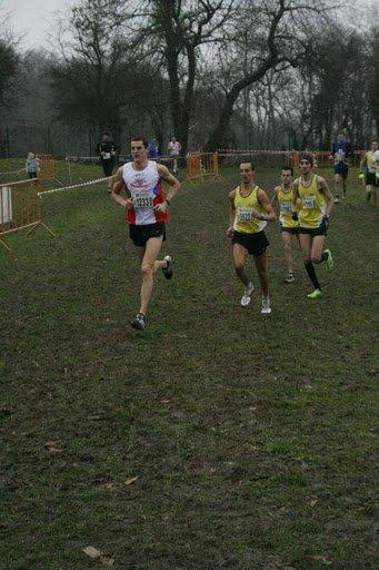 Championnat du hainaut de cross country à Saint-Vaast. ( le 23-01-2011 ).