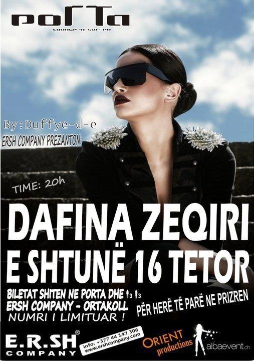 Dafina Zeqiri Koncert ne Prizren per here te pare !