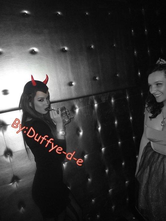 Dafina Zeqiri Halloween 2010