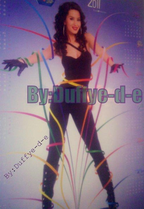 Dafina Zeqiri New RC Cola Calendar 2011 <3